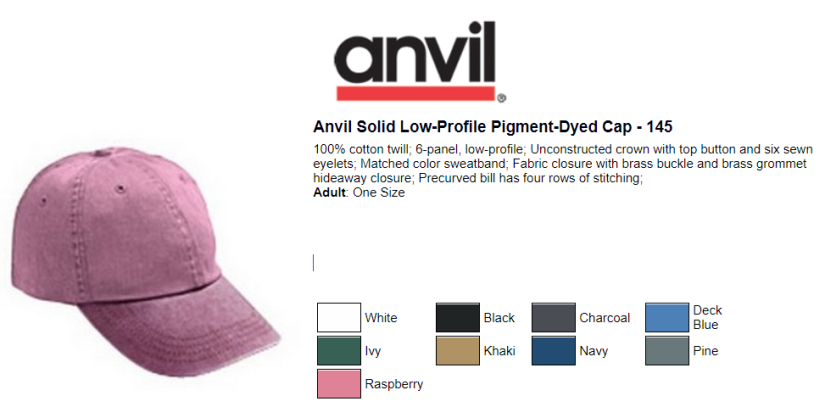 Anvil Solid Low Profile