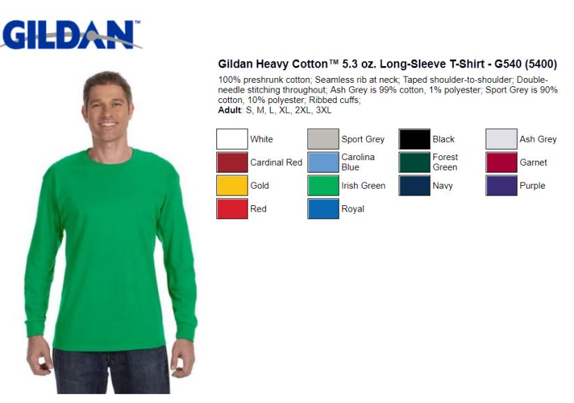 Gildan Shirts